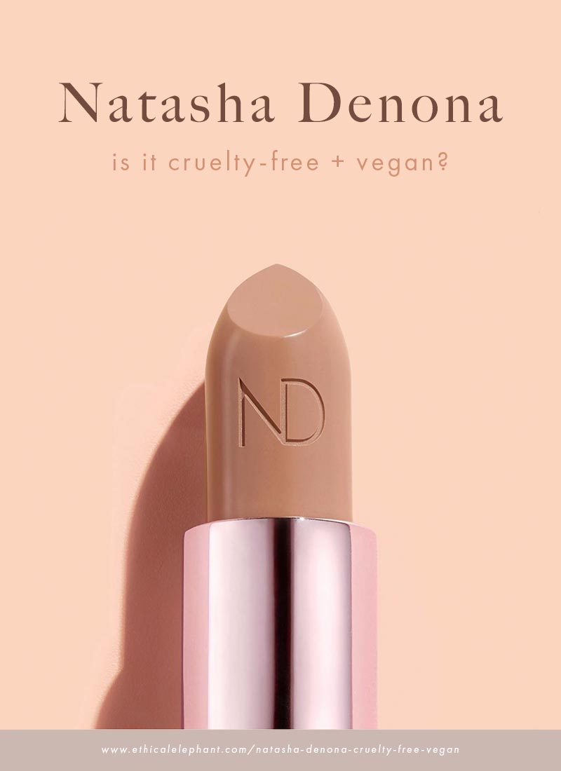 Is Natasha Denona Cruelty-Free and Vegan?