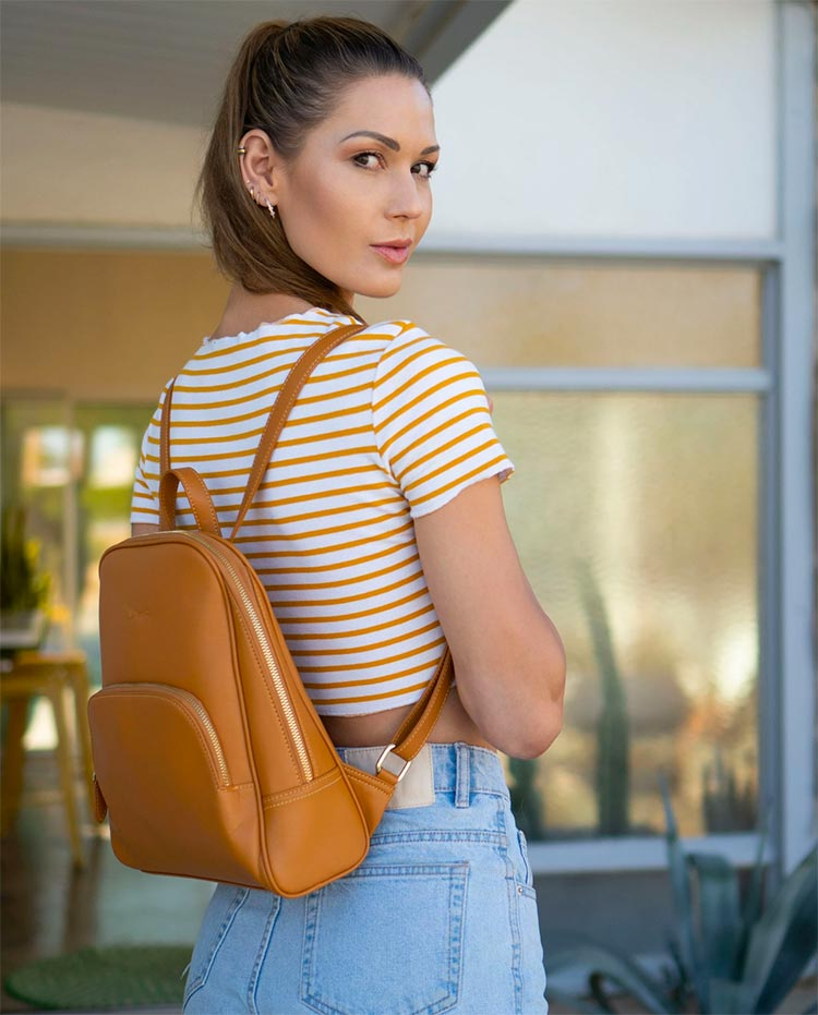 Doshi Vegan Leather Backpacks and Handbags