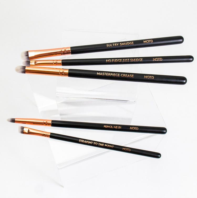 MOTD Cosmetics Vegan Makeup Brushes