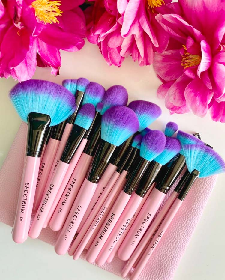 Spectrum Collections Vegan Makeup Brushes