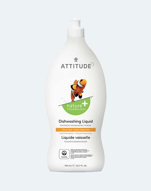 ATTITUDE Vegan Dish Soap