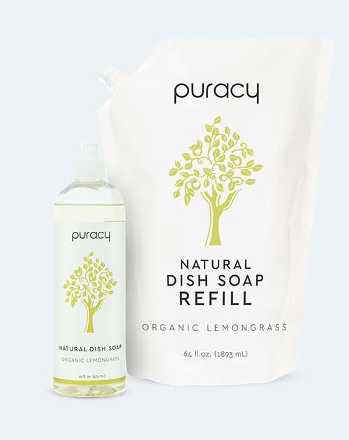 Puracy Natural & Vegan Dish Soap