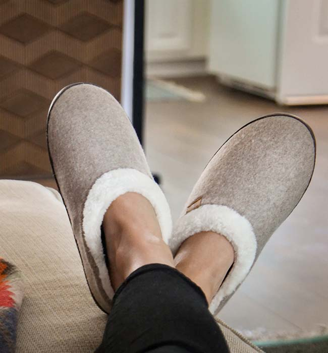 Freewaters Vegan House Slippers