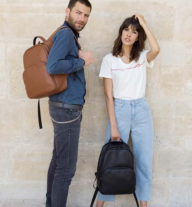 Luxury Vegan Backpack by Ashoka Paris
