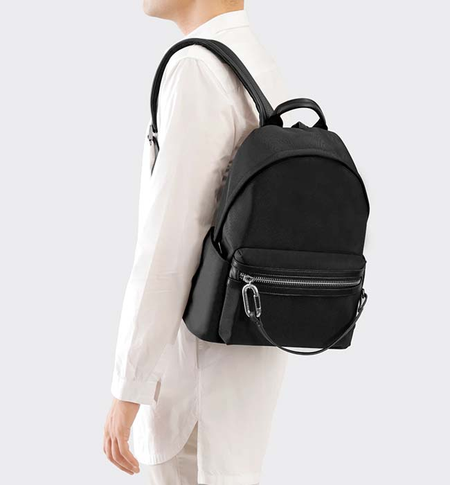 Unisex Vegan Backpack made from Recycled Materials by Charlie Feist