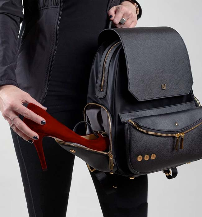 Work & Travel Vegan Backpack by Lux and Nyx