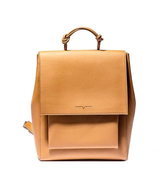 Vegan Leather Minimalist Backpack by von Holzhausen