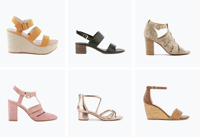 BC Footwear Affordable Casual Vegan Heels