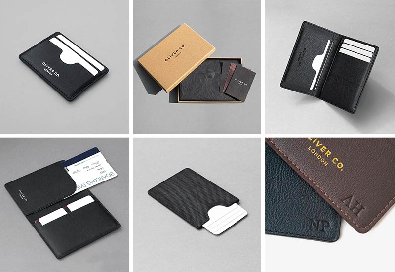 Oliver Co. London Sustainable & Vegan Leather Cardholders for Men