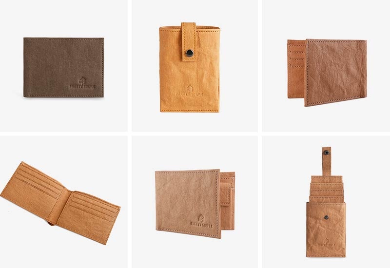 Pretty Simple paper leather vegan wallets