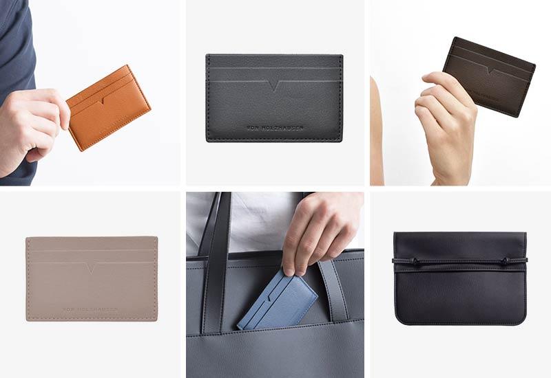 von Holzhausen Vegan Leather Cardholders