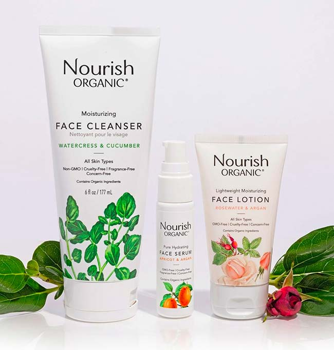 Nourish Organic Cruelty-Free Skincare Products