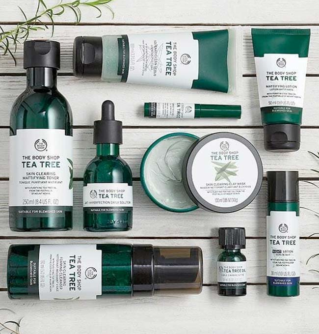 The Body Shop 100% Vegetarian Skincare