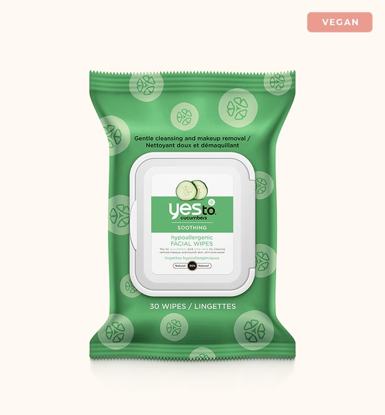 Biodegradable Vegan Makeup Remover Wipes