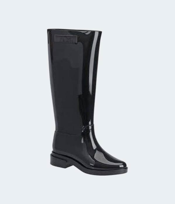 Vegan Knee-High Rain Boots by Melissa