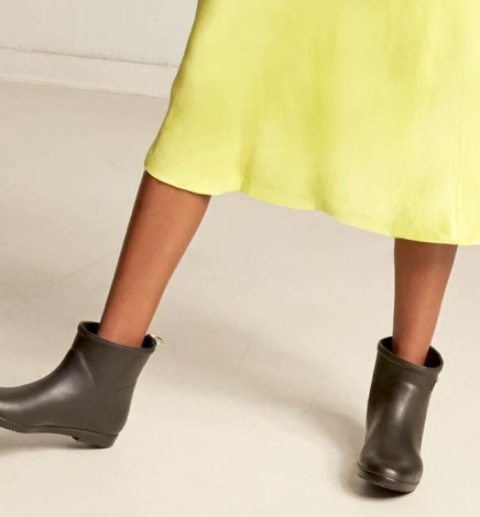 12 Stylish Ethical & Vegan Waterproof Rain Boots Making a Splash