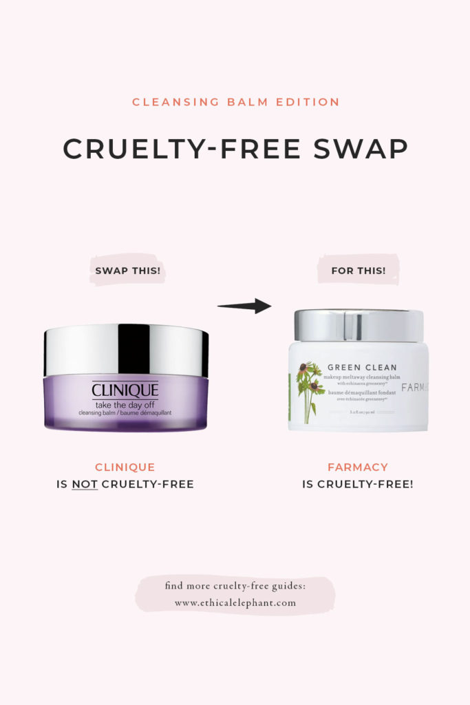 Cruelty-Free Swap Clinique Cleansing Balm