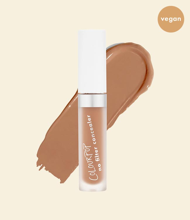 ColourPop No Filter Matte Concealer is Vegan!