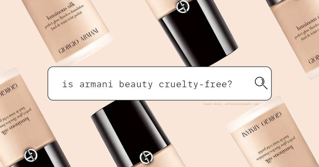 Is Giorgio Armani Cruelty-Free?