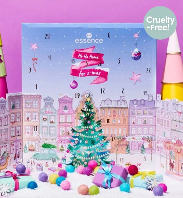 Ho Ho Home for X-mas Essence Cruelty-Free Advent Calendar