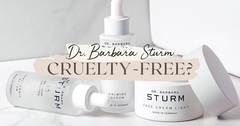 Is Dr. Barbara Sturm Cruelty-Free?