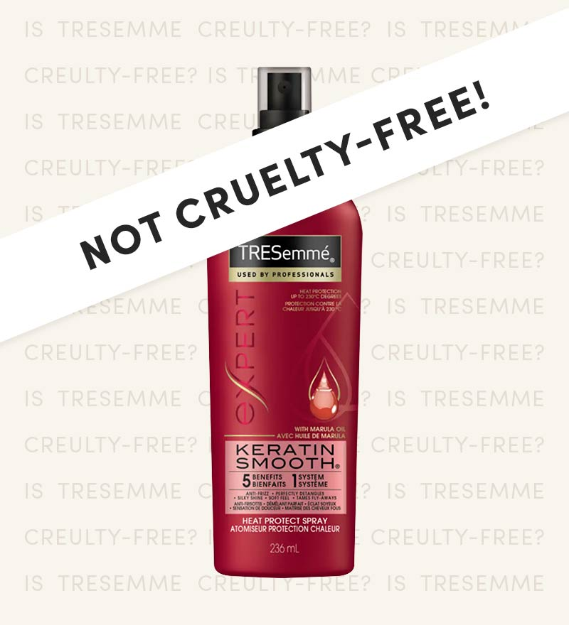 Is Tresemme Cruelty-Free?