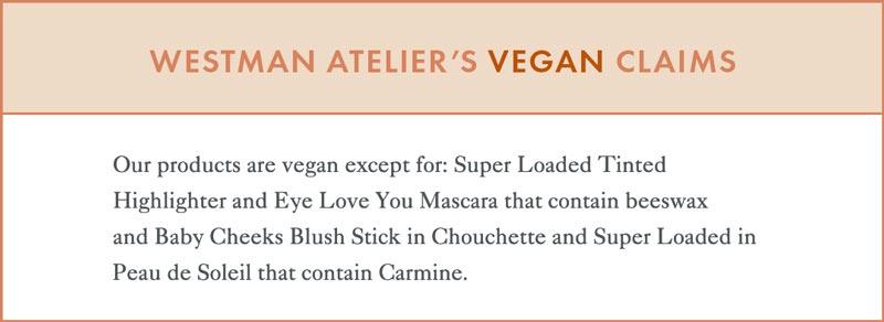 Westman Atelier Vegan Claims