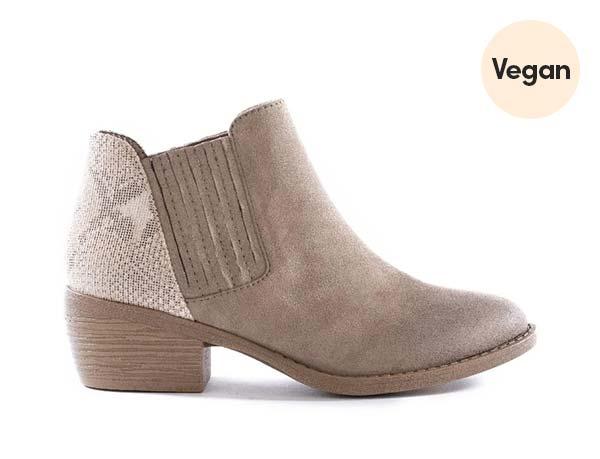 Everyday Vegan Booties - BC Footwear