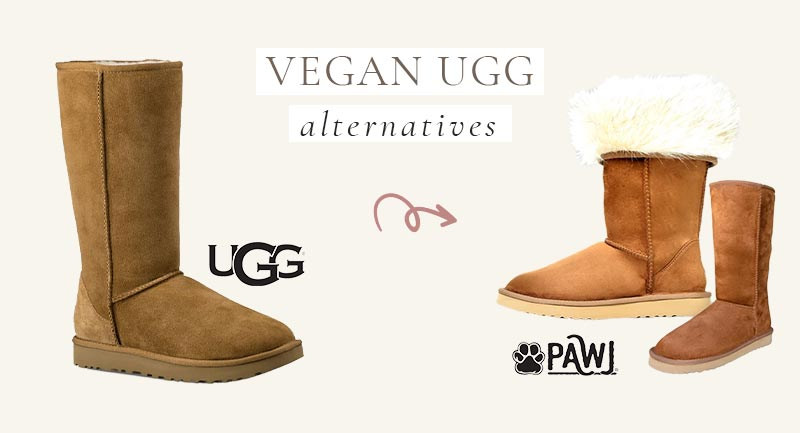 Vegan UGG Alternative to their classic tall boots