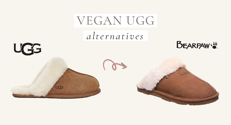Vegan UGG Alternative to their slippers