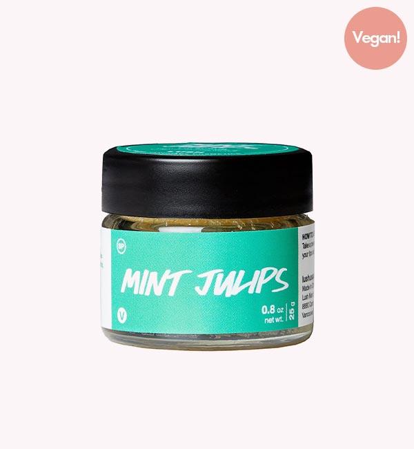 Lush Mint Julips Vegan Lip Scrub