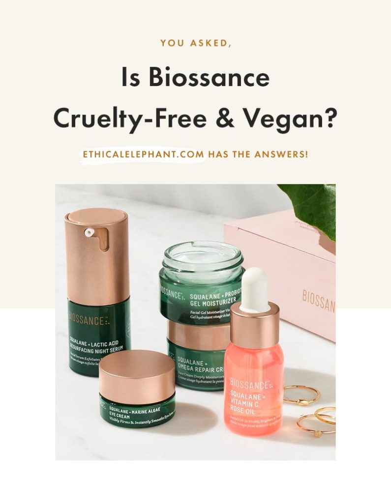 Is Biossance Cruelty-Free & Vegan?