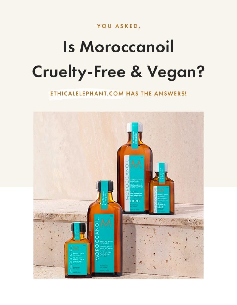 Is Moroccanoil Cruelty-Free and Vegan?