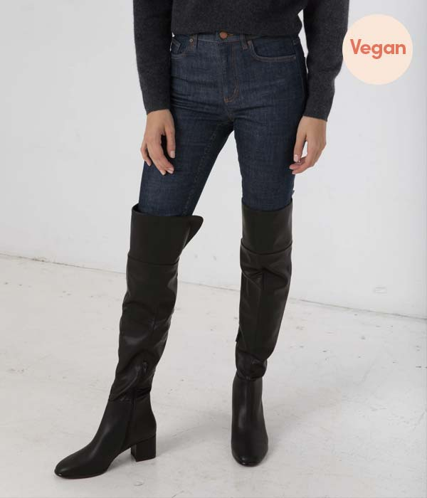 Vegan Leather Knee High Boots by Matt & Nat