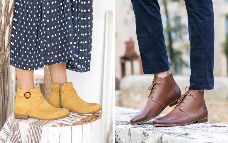 Minuit sur Terre Vegan Leather Boots