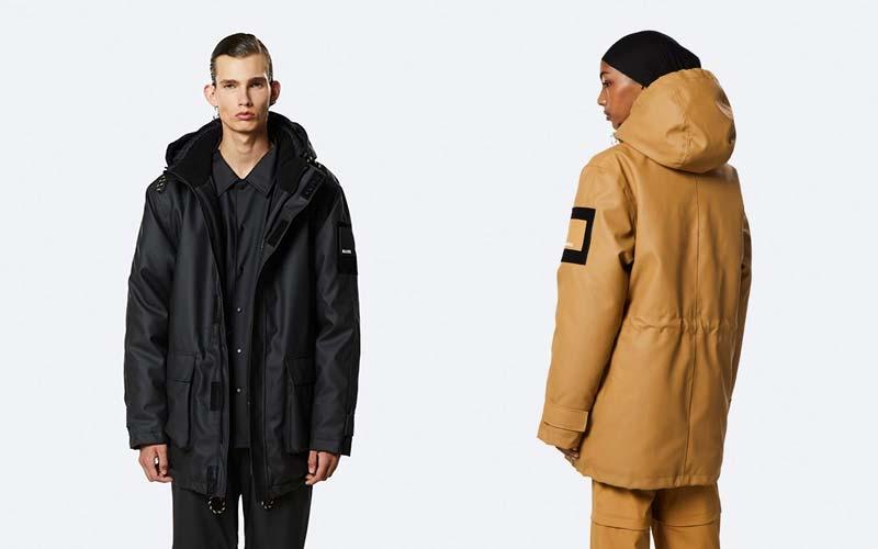 Rains Vegan Parka & Winter Coats