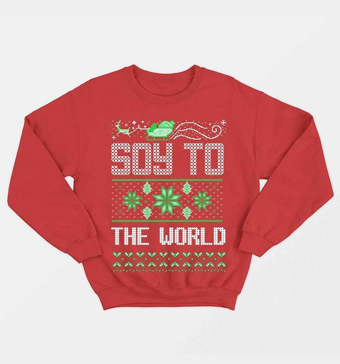 Soy to the World! by Vegan Outfitters