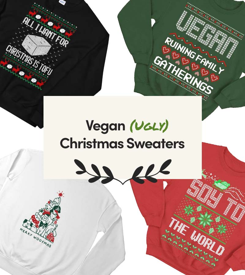 List of Vegan Ugly Christmas Sweaters