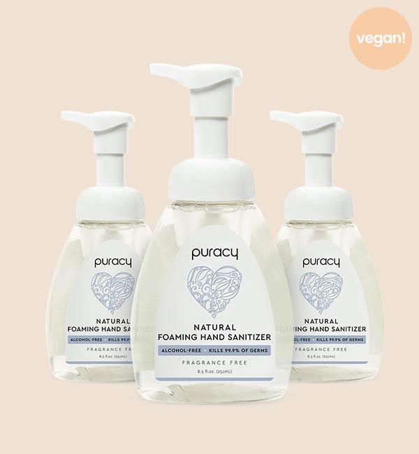 Fragrance-Free Natural Foaming Hand Sanitizer