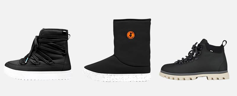 Native Shoes Offers Water-Resistant and Winter Vegan Boots