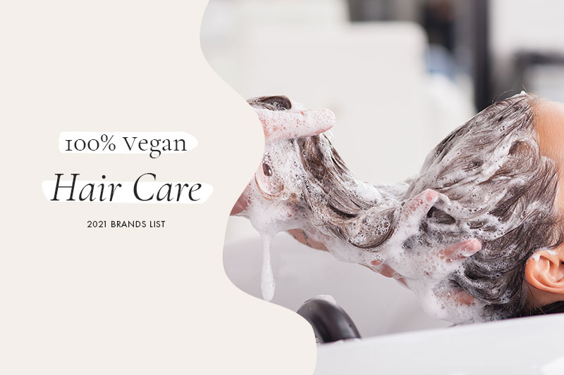 100% Vegan Hair Care Brands
