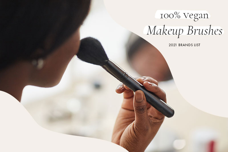 100% Vegan Makeup Brushes