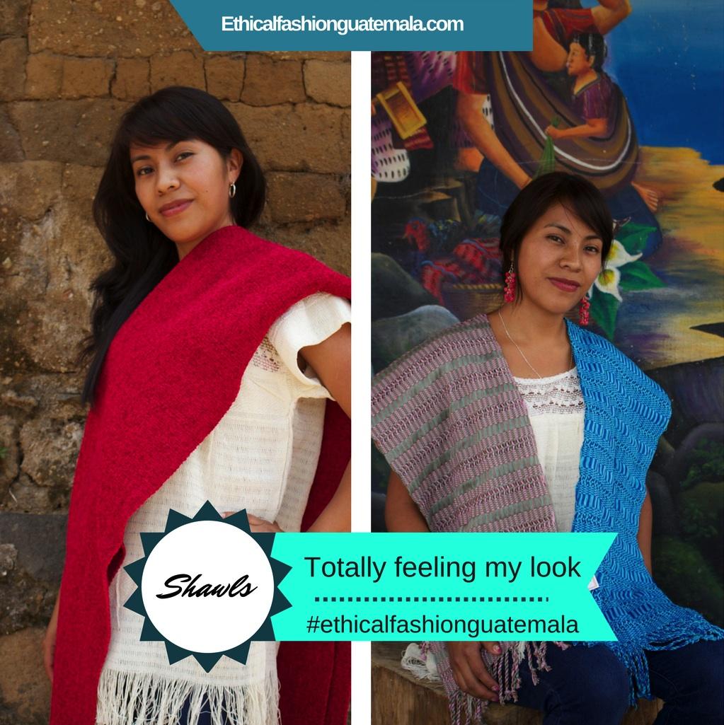 Ethical Fashion Guatemala shawls