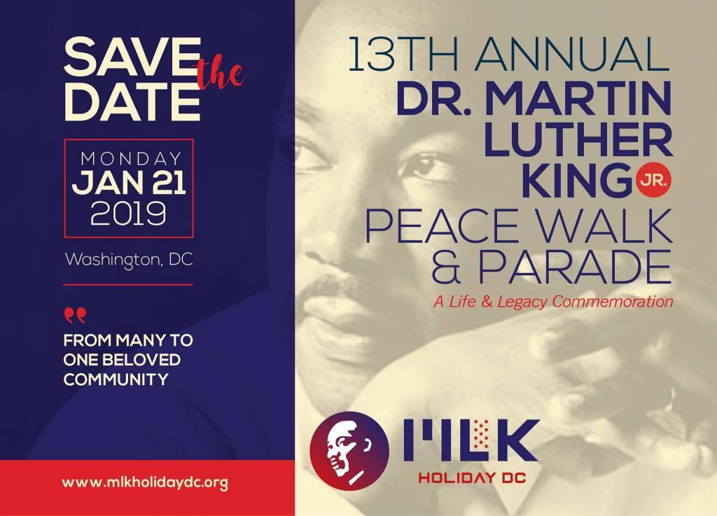 Mlk Jr Day Parade Information Washington Ethical Society