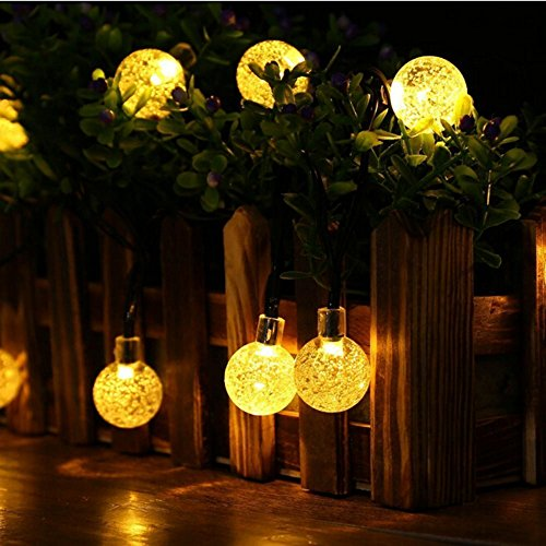 KEEDA Solar Globe Fairy Lights ...