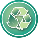 Eco-value icons - Recycled Material | Ethic & chic
