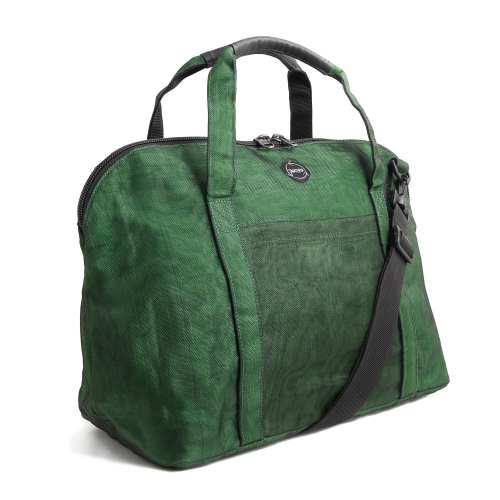 Snippet - Ethical Travel Bag - Bottle Green