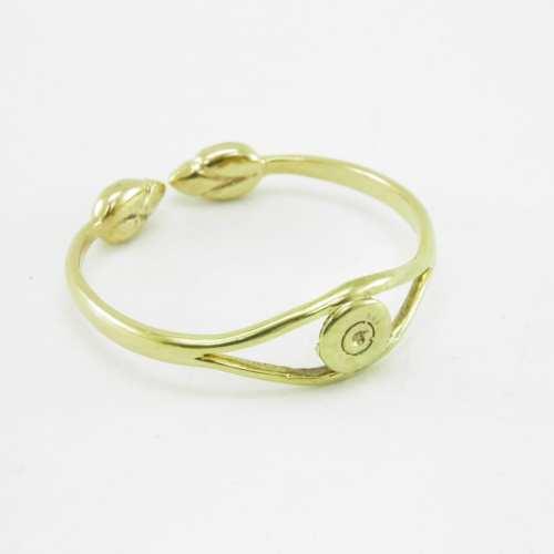 Bracelet Recycled – Bullet Rim And Lotus