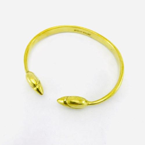 Le Bracelet Bouton Lotus – Laiton Recyclé