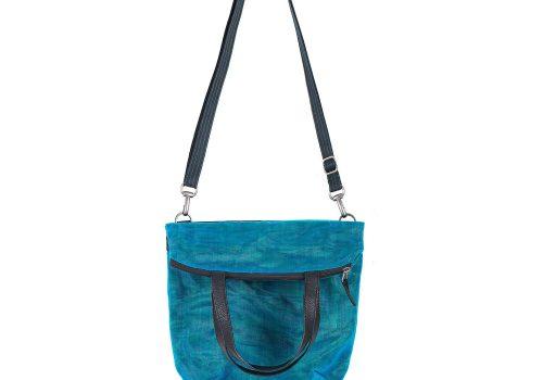 Le Voyageur - Fourre-tout éthique - Bleu Pétrole